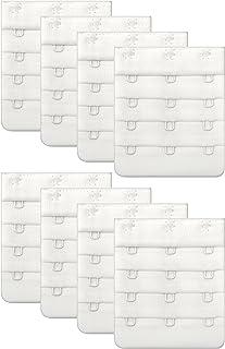 Women Bra Strap Extensions - Comfort Sturdy Bra Extender 3 Hook 3/4 inch Spacing