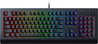 Razer Cynosa V2 Gaming Keyboard: Customizable Chroma RGB Lighting - Individually Backlit Keys - Spill-Resistant Design - P...