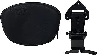 Fully Adjustable Driver's Backrest for 07+ Harley Davidson Softail Fat Boy / Deluxe - Contoured