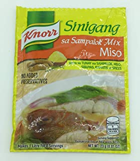 Knorr Sinigang Na May Miso Recipe Mix - 24 gm