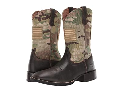 Ariat Sport Patriot (Brooklyn Brown/Multicam) Cowboy Boots