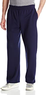 Fruit of the Loom Men's Pocketed Open-Bottom Sweatpant