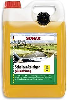 SONAX Ruitenreiniger gebruiksklaar met citrusgeur (5 liter) gebruiksklare reiniger voor de ruitensproeiers en koplampensys...