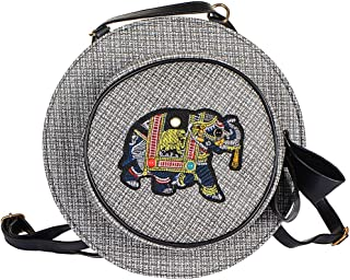 STRIPES Grey Cross Body/Backpack Bag for Teens Girls/Women