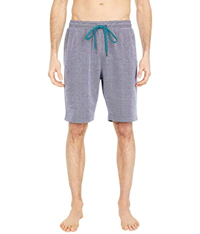 Tommy Bahama Double Knit Jacquard Interlock Jam Shorts (Navy Heather) Men