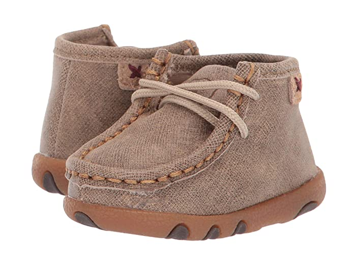Twisted X  Driving Moc (Infant/Toddler) (Dusty Tan) Shoes