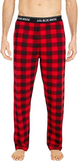 Buffalo Plaid Jersey Pajama Pants