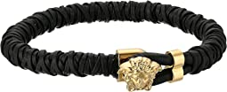 Versace - Leather Medusa Bracelet