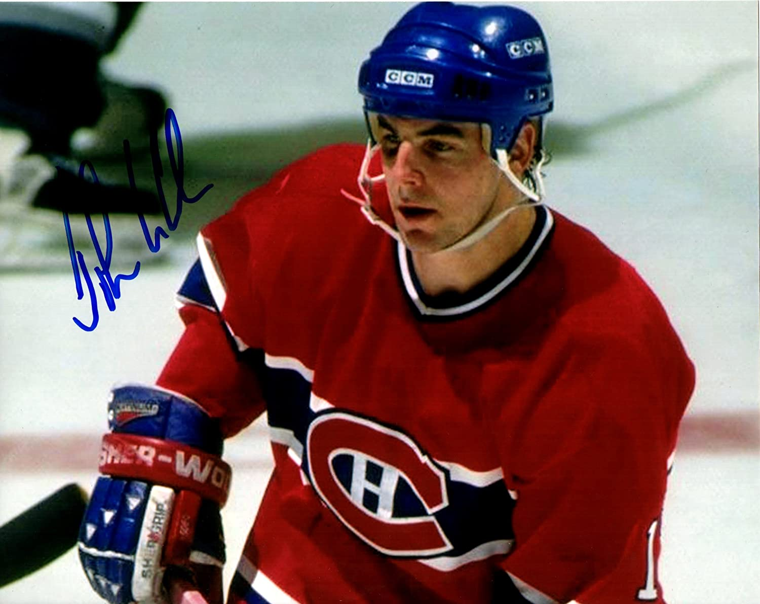 John LeClair Discount is also underway Signed Montreal 8x10 Phot 4 years warranty Canadiens NHL