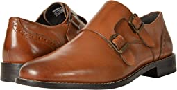 Norway Plain Toe Double Monk Dress Casual Slip-On