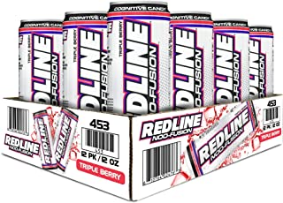 VPX Redline NOO-Fusion - Carbonated Preworkout & Cognitive Enhancing - Sports Nutrition Energy Drink with Caffeine, NOO-Fu...