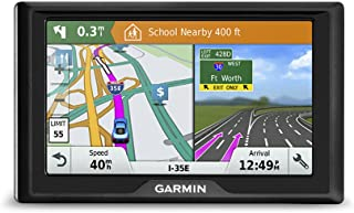 Garmin Drive 61 USA LM GPS Navigator System with Lifetime Maps, Spoken Turn-By-Turn Directions, Direct Access, Driver Aler...