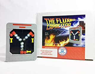 Brick Loot - Exclusive Flux Capacitor Set and Deluxe LED Lighting Kit - Custom Design - Handmade - Compatible with All Maj...