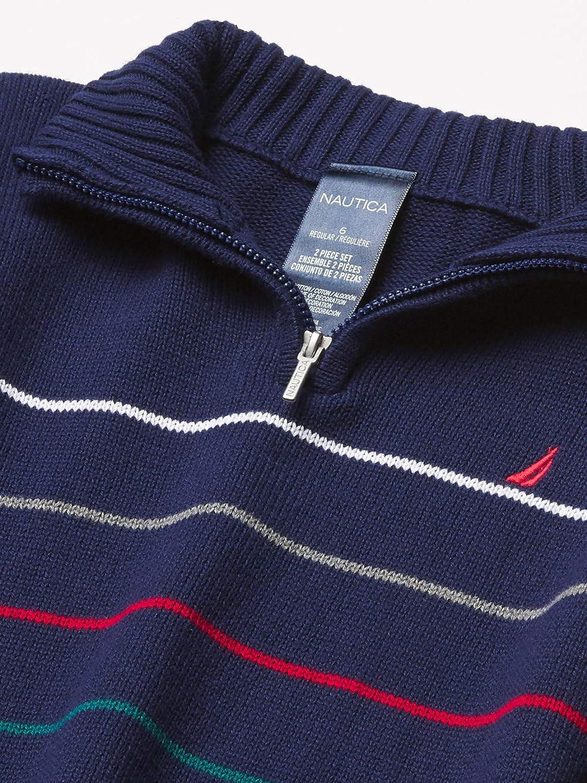 Nautica Boys 2 Pieces Pullover Pants Set