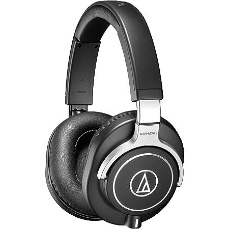 Audio-Technica ATH-M70X Closed-Back Dynamic Professional Studio Monitor Headphones