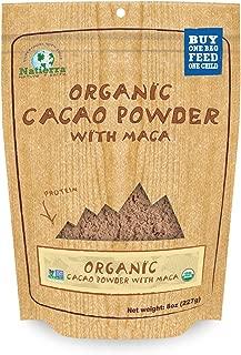 Natierra HimalaniaOrganic Cacao Powder with Maca Pouch, 8 Oz