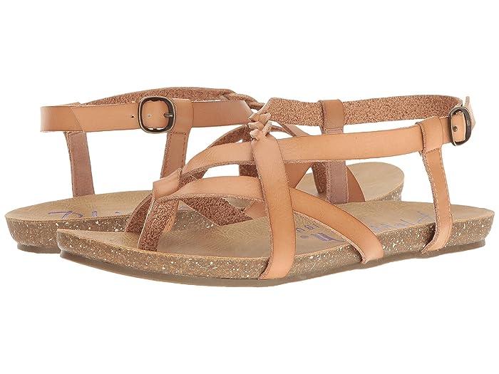 Blowfish  Granola-B (Nude Dyecut PU) Womens Sandals