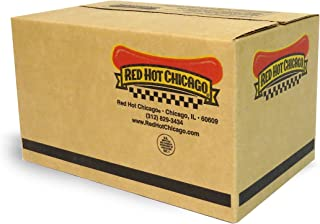 Red Hot Chicago Natural Casing Beef Franks 10 lbs. (approximately 60 count)