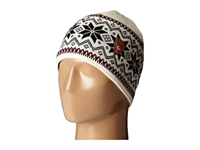 Dale of Norway Garmisch Hat (Off White/Raspberry/Navy) Cold Weather Hats