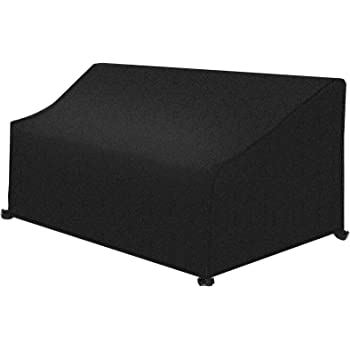 Dokon 2 Seat Garden Bench Cover Waterproof Breathable Oxford Fabric Outdoor...