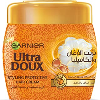 Garnier Ultra Doux The Marvelous Styling Protective Hair Cream with Argan and Camelia Oils 200 ML
