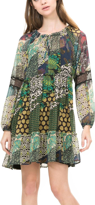 Desigual Womens' Dress Calendre, Sizes XSXL