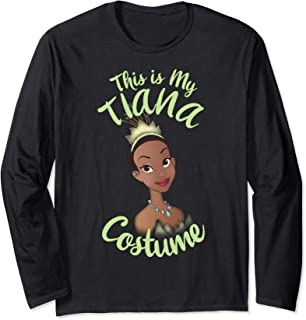 Disney Princess And The Frog Tiana My Costume Halloween Long Sleeve T-Shirt