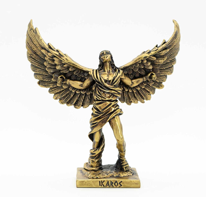 Helcee Handmade Bronze Plated in Popular overseas Statue Icarus SALENEW very popular 6.3