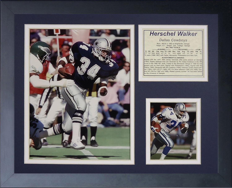 Legends Never Die Herschel Walker  Framed Photo Collage, 11 x 14Inch