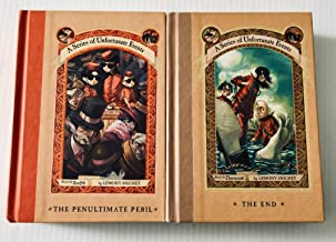2 Books! A Series of Unfortunate Events: (Vol.12 & 13) ~The Penultimate Peril & The End