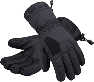 Andorra Kids' Two Tone Geometric 3M Thinsulate Insulated Ski Gloves