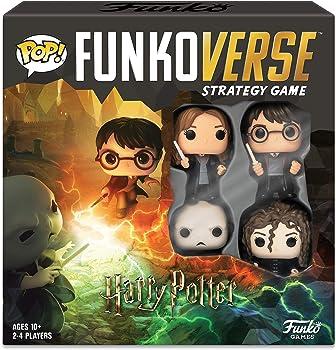 Funko Pop Harry Potter 100 Funkoverse Base Set Strategy Board Game