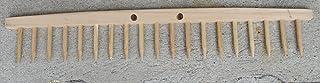 Rastrillo De Madera De 19dientes ad uso Agricolo y para orticoltura-giardinaggio