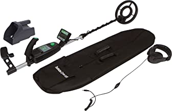 Treasure Cove TC-9700 Fortune Finder Pro Professional Metal Detector Kit With Waterproof Search Coil, and 10-Year Warranty
