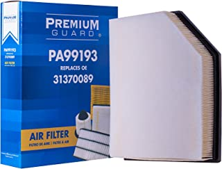PG Air Filter PA99193| Fits 2016-20 Volvo XC90, 2019-20 XC60, 2017-20 S90, V60 Cross Country, 2020 S60, 2018-20 V90, 2019-20 V60