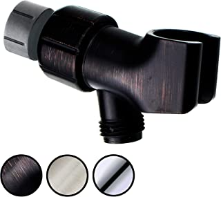 YOO.MEE Shower Arm Bracket for Handheld Shower Head, Adjustable Holder Mount, Oil Rubbed Bronze
