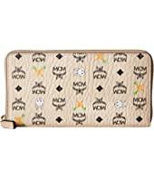 MCM - Rabbit Zipped Wallet Large