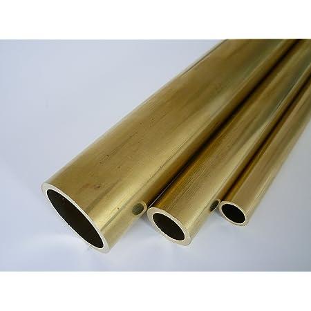 B/&T Metall Messing Rohr /Ø 6,0 x 0.5 mm rund ca CuZn37 500 mm lang Legierung Ms63