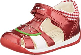 Geox B Each Girl B, Sandales Bout Ouvert Fille