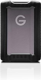 SanDisk Professional G-DRIVE 5TB ArmorATD, Robuust, Duurzaame draagbare externe HDD, Tot 140MB/s, USB-C (5Gbps), USB 3....