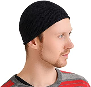 CHARM Kufi Hat Mens Beanie - Cap for Men Cotton Hand Made 2 Sizes by Casualbox
