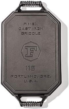 FINEX Cast Iron Double Burner Griddle