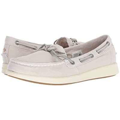 Sperry Oasis Canal Canvas (Ivory) Women