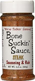 Bone Suckin' Seasoning & Rub, Steak, 5.8 Oz
