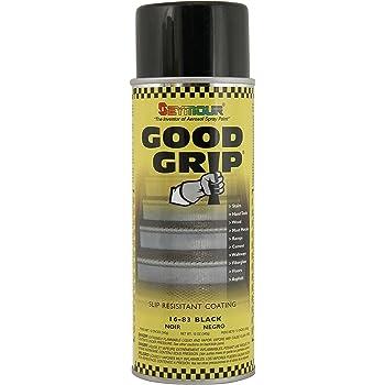 Seymour 16-083 Good Grip Slip Resistant Coating Spray, Black