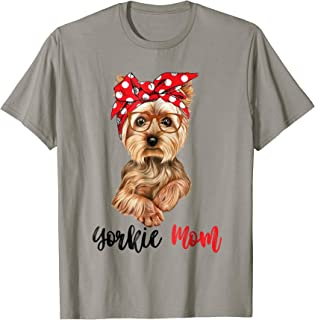 Best yorkie mom t shirts Reviews