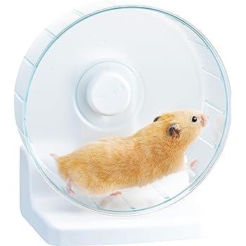 ジェックス ハビんぐ ハーモニーホイール クリアカラー 小動物用 21cm
