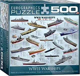 World War II Warships Puzzle, 500-Piece