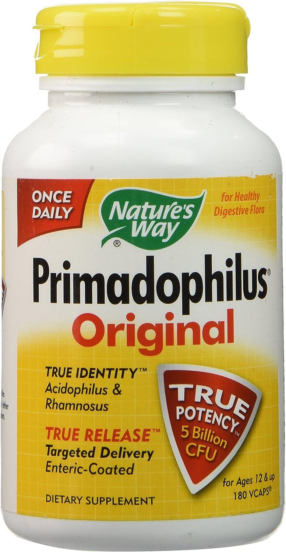 Natures Max 61% OFF Way Primadophilus New life 180 Veggie Capsules