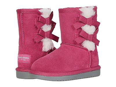 Koolaburra by UGG Kids Victoria Short Boot (Toddler/Little Kid) (Raspberry Rose) Girl
